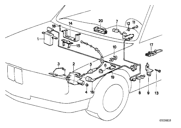 1987 bmw 528e wiring diagram